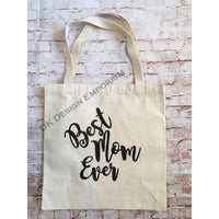 Best Mom Ever Canvas Tote Bag