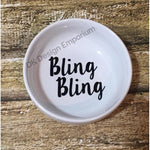 Bling Bling Ceramic Ring Dish