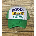 Booze Beads Boys Mardi Gras Trucker Hat