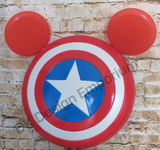 Captain America Mouse Mash-up Running Costume