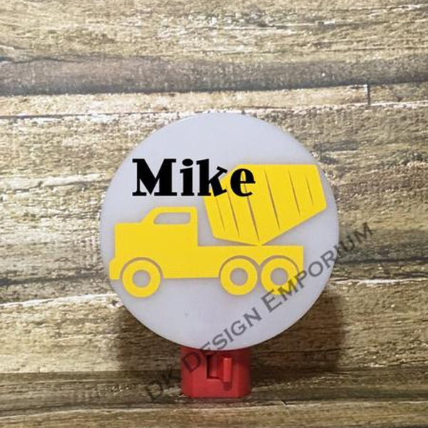 Cement Mixer Night Light