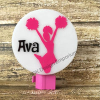 Personalized Cheerleader Night Light