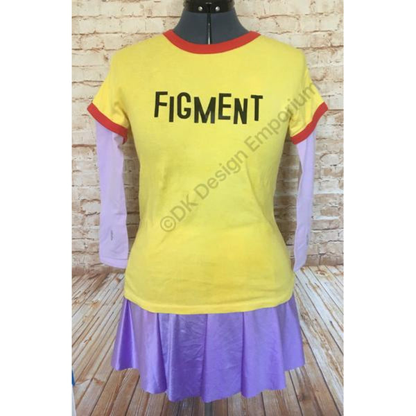 Purple Dragon Figment Inspired Running Costume