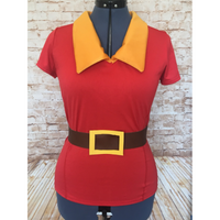 Gaston Inspired Performance Shirt with Separate Vinyl Belt