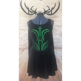 Hela Inspired Running Costume - Goddess of Death Costume