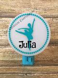 Personalized Ballerina Night Light