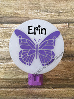 Personalized Butterfly Night Light