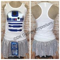 R2 Droid Running Costume