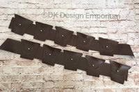 Set of 2 Costume Bandoliers - Jawa or Tusken Raider Costume