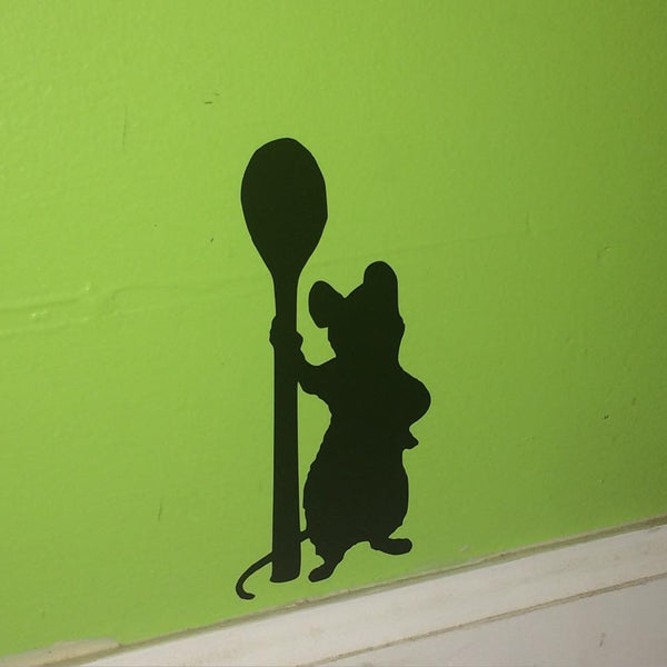 Remy Chef Mouse Wall Decal
