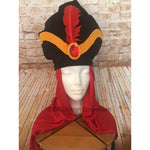 Arabian Villain Royal Vizier Turban - Jafar Inspired Hat