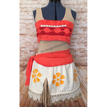 Polynesian Princess Running Costume - Moana Inspired Costume