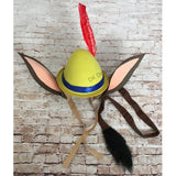 Pleasure Island Donkey Hat and Tail Set