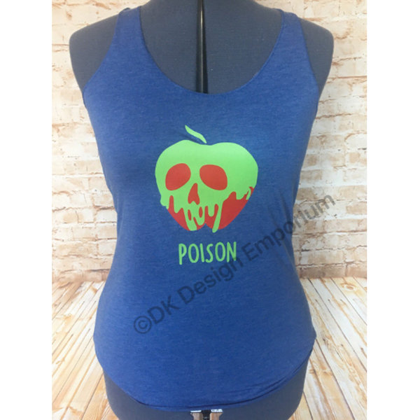 Poison Apple Tank Top - Princess Slumber Party Top - Snow White Inspired
