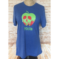 Poison Apple Unisex T-Shirt - Snow White Inspired Princess Slumber Party Top