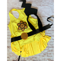 Powerline Inspired Women's Running Costume - Goofy Rockstar Run Costume