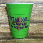 Repent Wednesday Mardi Gras Tumbler