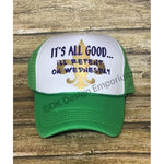 Repent Wednesday Mardi Gras Trucker Hat