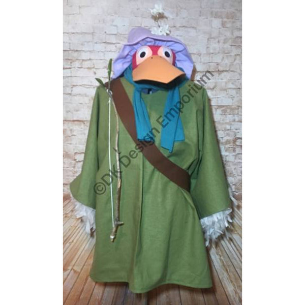 Fox Disguised as Stork Complete Costume