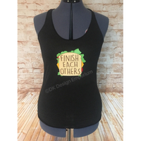 Anna Finish Each Others Sandwiches Tank Top - Princess Anna Slumber Party Top