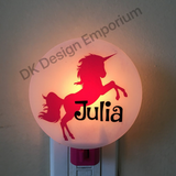 Personalized Unicorn Night Light
