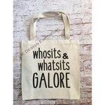 Whosits & Whatsits Galore Canvas Tote Bag