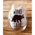 Wino Saur Stemless Wine Glass