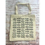 Yarn Balls Canvas Tote Bag