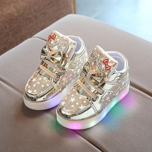 LED Star Toddler Trainers