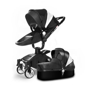 Aulon Luxury 3-in-1 Luxury Carriage Stroller