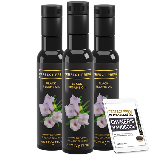 Perfect Press, Black Sesame Oil Offer
