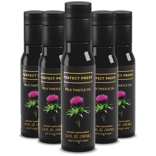 Perfect Press, Milk Thistle Oil Offer
