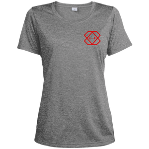 Red Label Heather Dri-Fit Moisture-Wicking T-Shirt