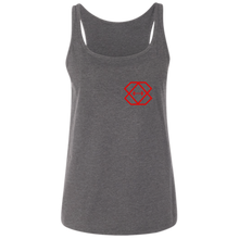 Load image into Gallery viewer, Red Logo  Ladies' Relaxed Jersey Tank