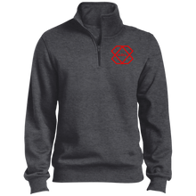 Load image into Gallery viewer, Red Label 1/4 Zip Sweatshirt