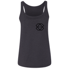 Load image into Gallery viewer, Black Label Ladies' Relaxed Jersey Tank