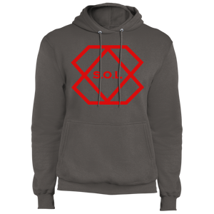 Red Label Core Fleece Pullover Hoodie