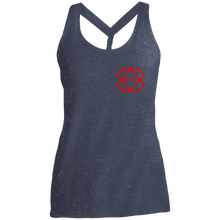 Load image into Gallery viewer, Red Label Ladies' Cosmic Twist Back Tank