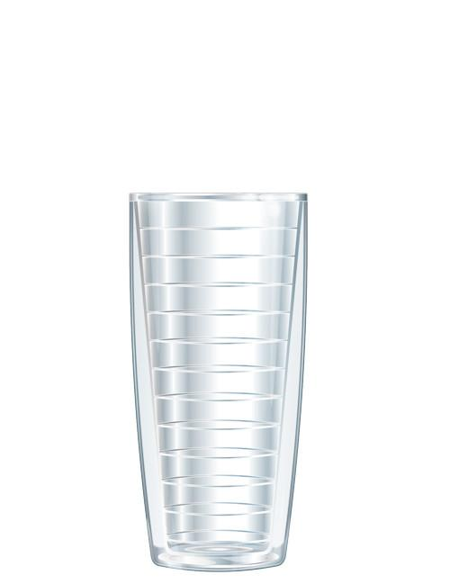 Clear Traveler Tumbler  - 16 oz Set of Four - Free Shipping