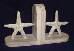 Starfish Bookends, Whitewash - Free Shipping