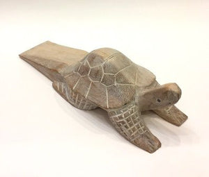Turtle Doorstop, Whitewash - Free Shipping