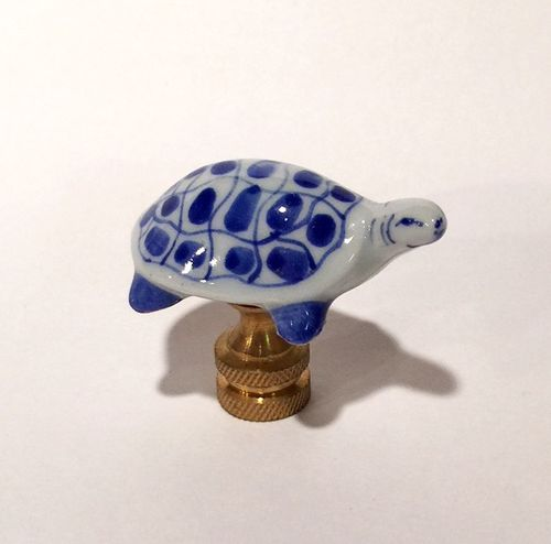 Turtle Lamp Finial - Free Shipping