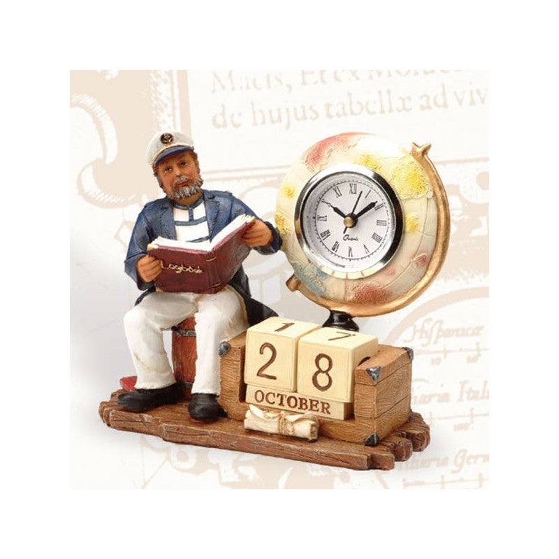 Captain Clock & Calendar - 5 Pieces