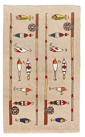 Fishing Rod 2' x 8' Rug Runner