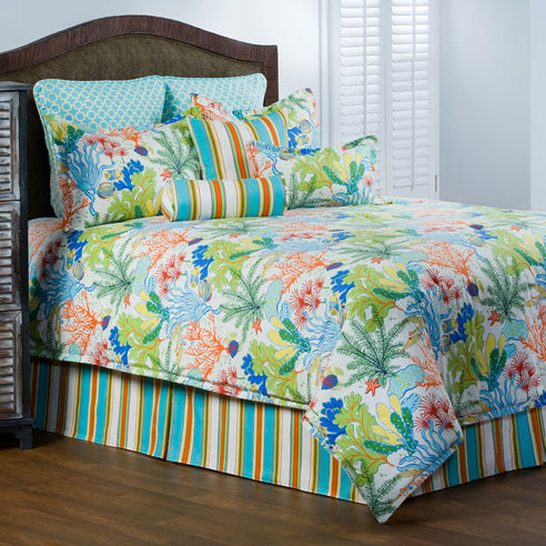 Island Breeze Comforter Sets-Nautical & Coastal Beach Bedding-Nautical Decor and Gifts