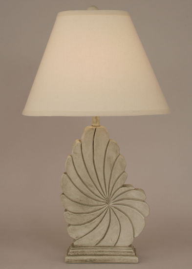 Nautical Shell Lamp