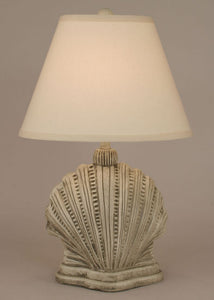 Mini Scallop Shell Lamp-Coastal Living Lamps - View All-Nautical Decor and Gifts