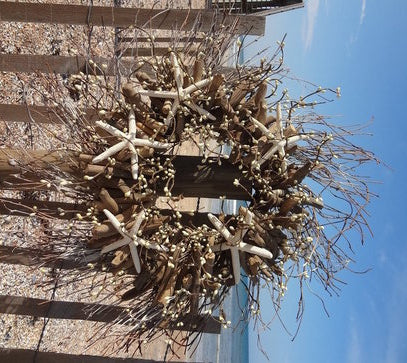 Coastal Driftwood Wreath