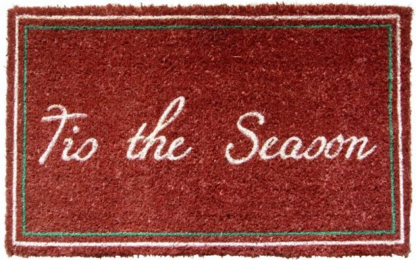 Tis the Season Door Mat