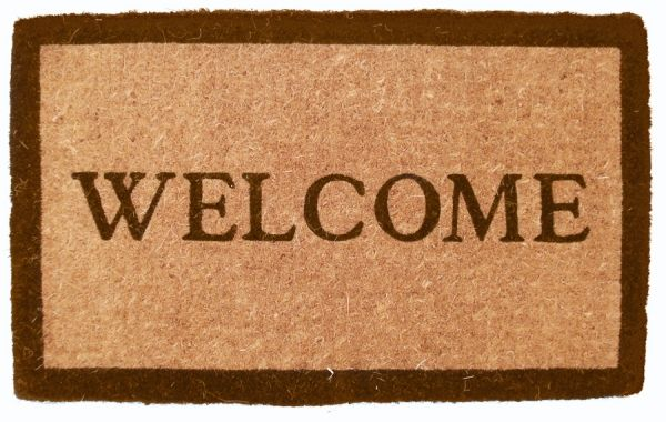 Welcome Door Mat-Nautical Decor and Gifts